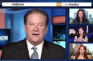 Hillary Supporter Alleges 'Coded Sexism' on MSNBC; Ed Schultz Pushes Back
