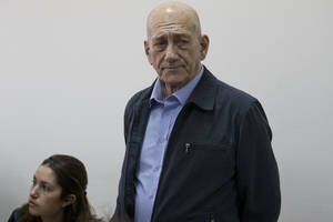 Ex-Israeli PM Ehud Olmert guilty in corruption case